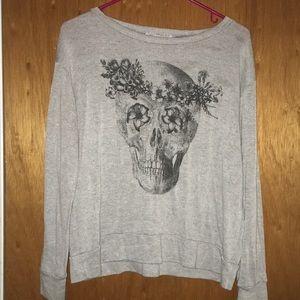Skull rose super soft shirt